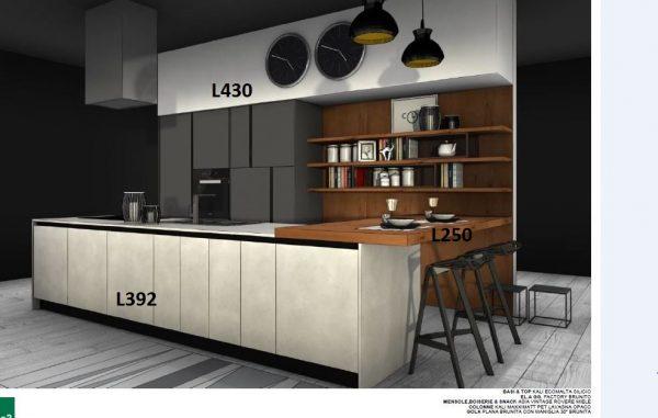 Arredo3 cucina plana kalì